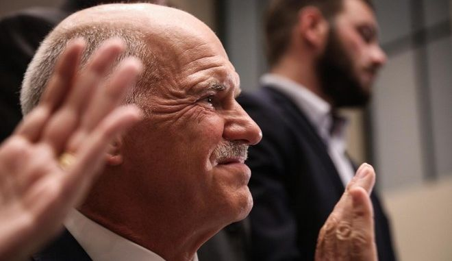 Event organized by the Andreas Papandreou foundation to commemorate the 40th anniversary from the PASOK`s establishment. In Athens, on September 1, 2014 /         40