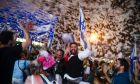 Ισραηλινοί πανυγηρίζουν τον σχηματισμό νέας κυβέρνησης, 3 Ιουνίου 2021