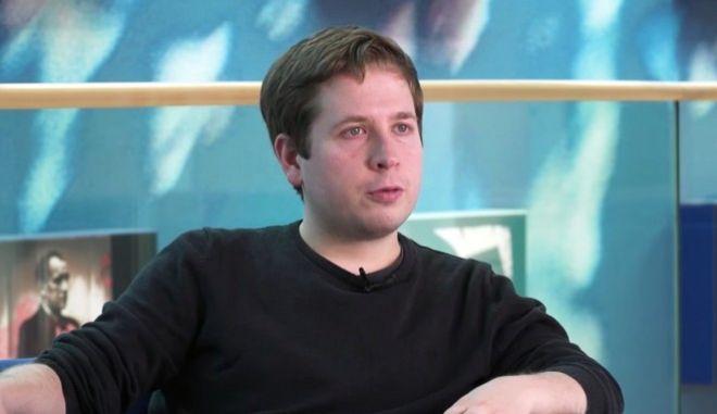 Ο επικεφαλής της Νεολαίας του Σοσιαλδημοκρατικού Κόμματος (SPD) Κέβιν Κιούνερτ
