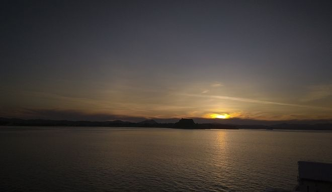 Ηλιοβασίλεμα στην Κέρκυρα