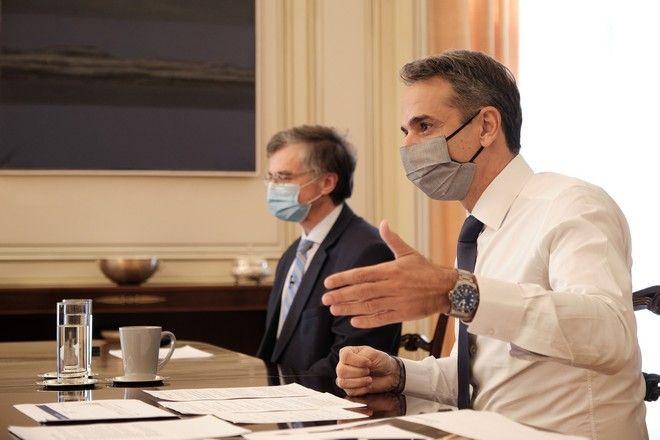 Ανακοινώσεις και συνέντευξη τύπου του Πρωθυπουργού Κυριάκου Μητσοτάκη για τα μέτρα αντιμετώπισης της πανδημίας του κορονοϊού