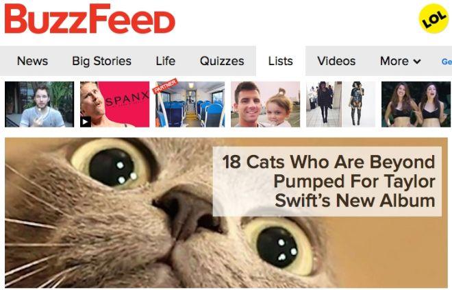 Buzzfeed: Οι 'λίσταρχοι' της ενημέρωσης