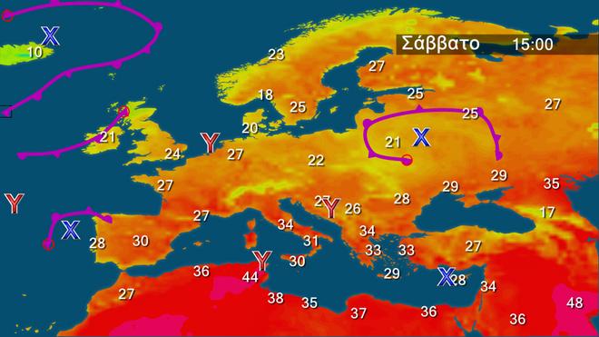 Μελτέμι στο Αιγαίο και καλές θερμοκρασίες για την εποχή