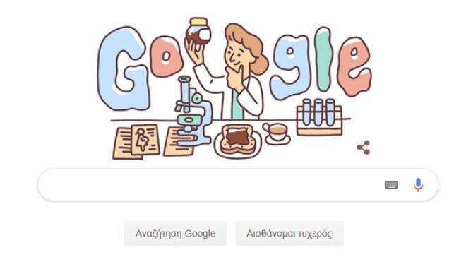 Το σημερινό doodle Google τιμά τη σπουδαία αιματολόγο Lucy Wills