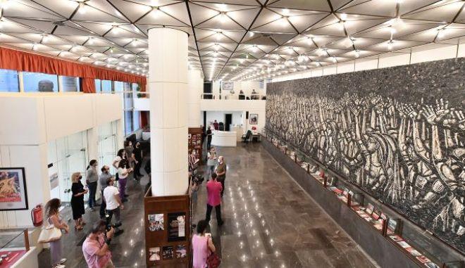 Ανακαινισμένη και αναβαθμισμένη η έδρα της ΚΕ του ΚΚΕ για το 21ο Συνέδριο του κόμματος