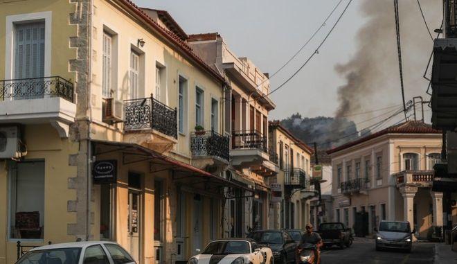 Πυρκαγιές στην Βόρεια Εύβοια