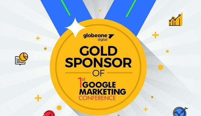 H Globe One Digital Χρυσός Χορηγός του 1st Google Marketing Conference