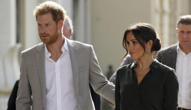 Ο πρίγκιπας Χάρι και η σύζυγός του Μέγκαν Μαρκλ