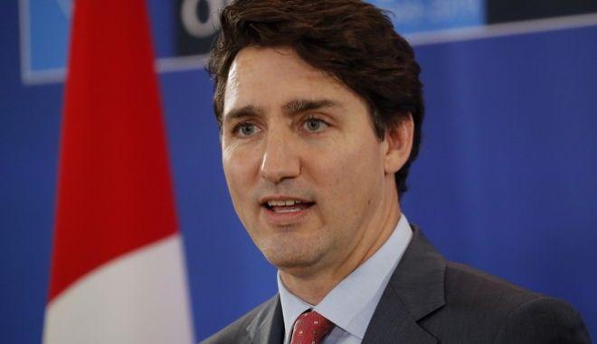 Ο πρωθυπουργός του Καναδά, Τζάστιν Τριντό