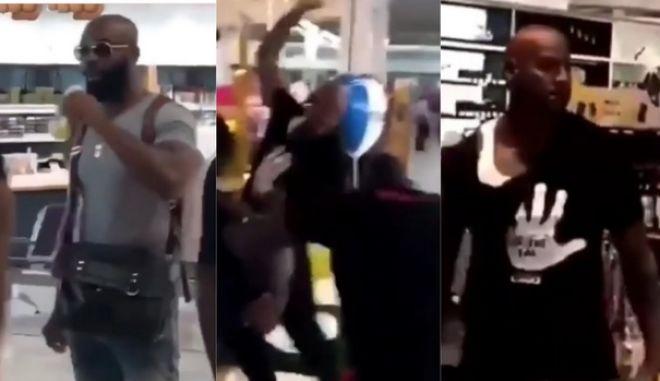 Υπό κράτηση μέχρι τη δίκη τους οι δύο ράπερ που πιάστηκαν στα χέρια στο αεροδρόμιο Ορλί