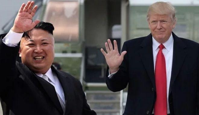 Η ιστορική συνάντηση Τραμπ - Κιμ Γιονγκ-Ουν
