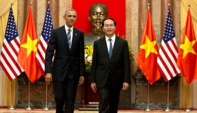 Ιστορική συμφωνία ΗΠΑ - Βιετνάμ