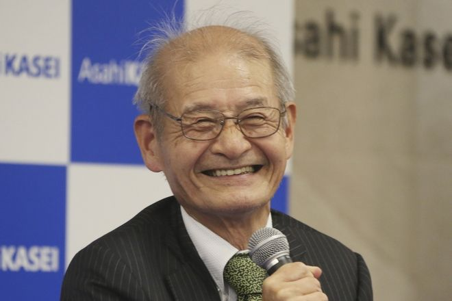 Akira Yoshino, νικητής του βραβείου Νόμπελ Χημείας