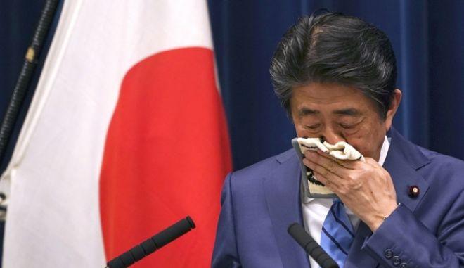 Ο πρωθυπουργός της Ιαπωνίας Σίνζο Άμπε