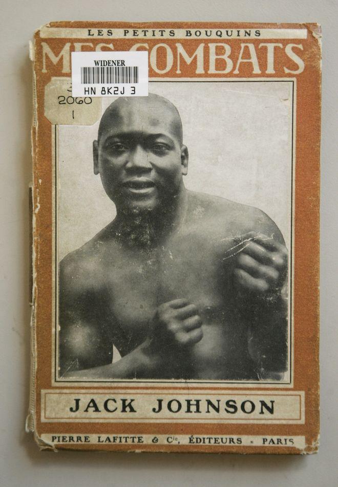 ** ADVANCE FOR WEEKEND EDITONS NOV. 10-11 ** Boxer Jack Johnson's 1914 memoir