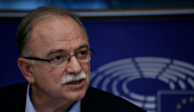 Παπαδημούλης: Σύνθετη ονομασία χωρίς αλυτρωτισμούς ή διεθνής αναγνώριση του 'Μακεδονία' το δίλημμα για την Ελλάδα