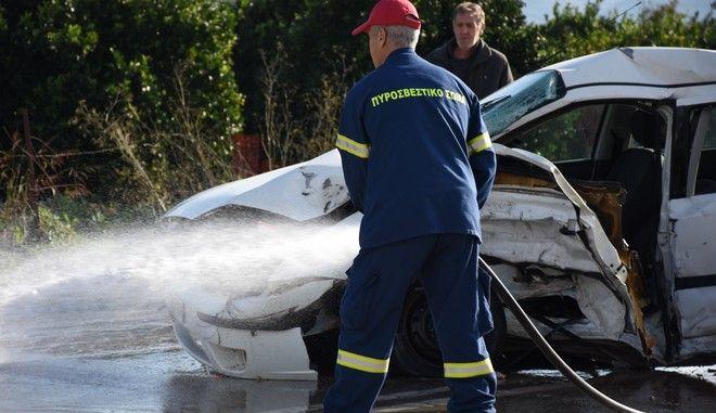 Τροχαίο δυστύχημα με νεκρό στην εθνική οδό Ναυπλίου Μυκηνών.