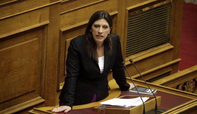 """Συνέχιση της συζήτησης στην Βουλή επί του σχεδίου νόμου του υπουργείου Δικαιοσύνης """"Μεταρρυθμίσεις ποινικών διατάξεων, κατάργηση των καταστημάτων κράτησης Γ΄ τύπου και άλλες διατάξεις"""" την παρασκευή 17 ΑΠριλίου 2015. (EUROKINISSI/ΓΙΩΡΓΟΣ ΚΟΝΤΑΡΙΝΗΣ)"""