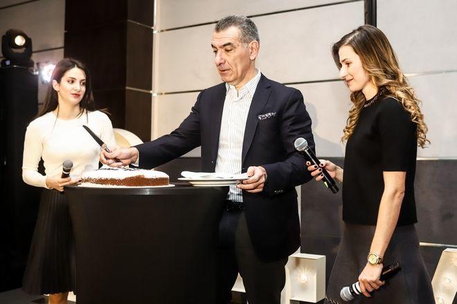 Από αριστερά: Μαρία Αρακά, Νικόλας Πεφάνης και Χριστίνα Τζεβελέκου