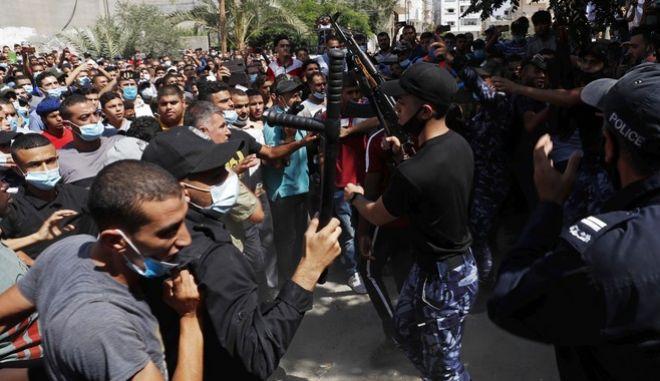 Διαδηλώσεις στην Αίγυπτο τον Σεπτέμβριο του 2020.