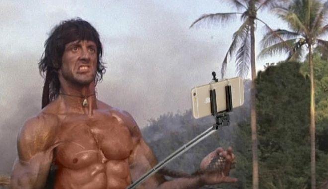 'Οχι πια όπλα. Μόνο selfie sticks!