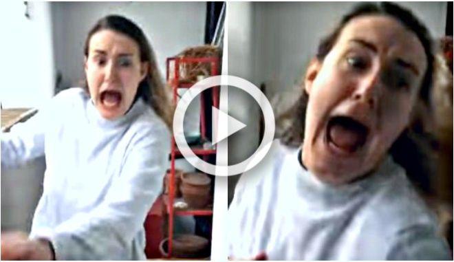 Βίντεο: Δεν φαντάζεστε τι προκάλεσε τον απόλυτο τρόμο σ' αυτή τη γυναίκα