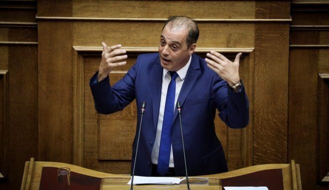O πρόεδρος της Ελληνικής Λύσης Κυριάκος Βελόπουλος