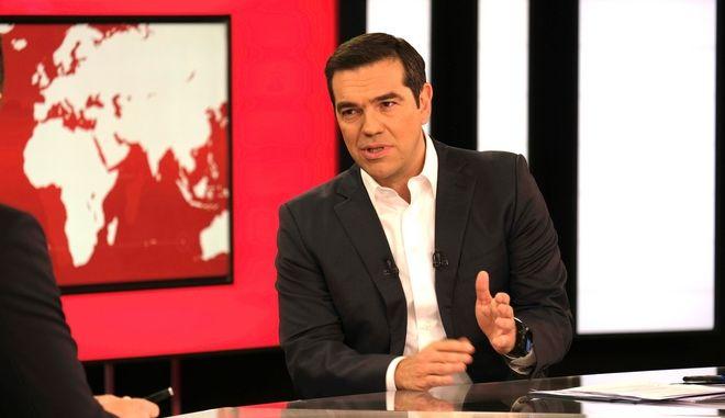 Συνέντευξη του πρωθυπουργού Αλέξη Τσίπρα