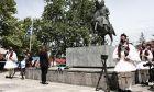 """Σακελλάροπούλου για Καραϊσκάκη: """"Εμπνεόμαστε από την ένταση και το πάθος με τα οποία αγωνίστηκε"""""""