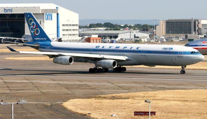 Στο σφυρί δύο Airbus της Ολυμπιακής από το ΤΑΙΠΕΔ