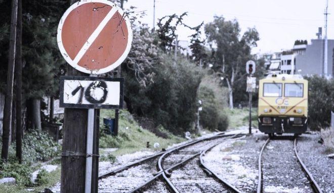 Σιδηροδρομικός σταθμός ΟΣΕ - Σταθμός Λαρίσης. Τετάρτη 8/2/2017.(EUROKINISSI//ΣΩΤΗΡΗΣ ΔΗΜΗΤΡΟΠΟΥΛΟΣ)