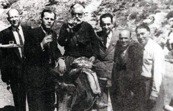 Ο Κ. Μητσοτάκης στην κρητική ύπαιθρο μετά την Απελευθέρωση
