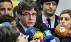 Ousted Catalan leader Carles Puigdemont
