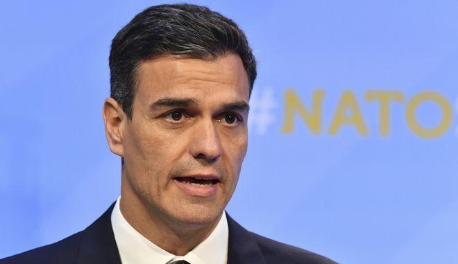 O Ισπανός πρωθυπουργός Πέδρο Σάντσεθ