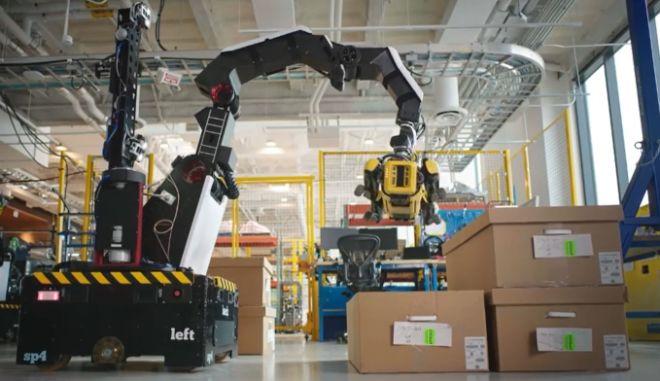 Stretch: Το ρομπότ που θα αντικαταστήσει τους αποθηκάριους