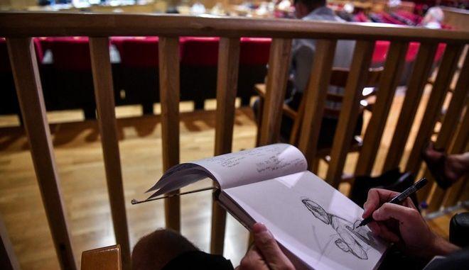 """Δίκη """"Χρυσής Αυγής"""", στην αίθουσα του Εφετείου Αθηνών"""