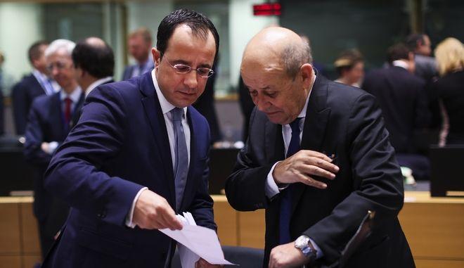 Ο υπουργός Εξωτερικών της Κύπρου Νίκος Χριστοδουλίδης