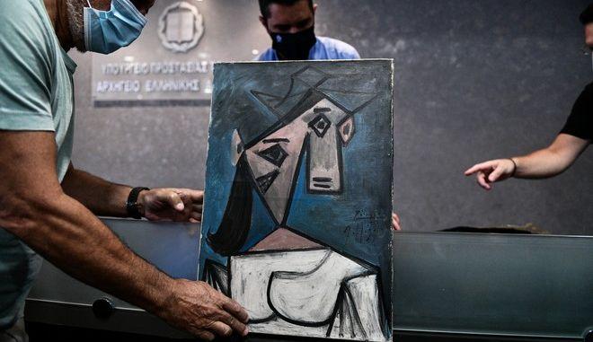 Ο πίνακας του Πικάσο που είχε κλαπεί από την Εθνική Πινακοθήκη