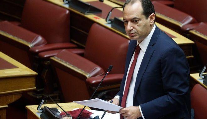 Ο τομεάρχης Προστασίας του Πολίτη του ΣΥΡΙΖΑ, Χρήστος Σπίρτζης