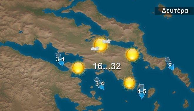 Καιρός: Άνοδος της θερμοκρασίας στους 35 βαθμούς