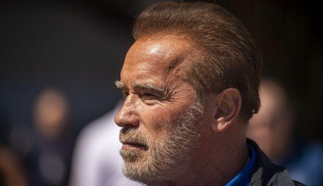 Ο ηθοποιός και πρώην κυβερνήτης της Καλιφόρνια Arnold Schwarzenegger