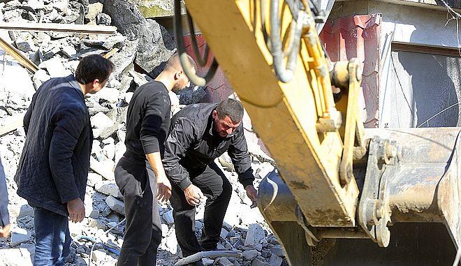 Πλάνο από το σεισμό στην Αλβανία