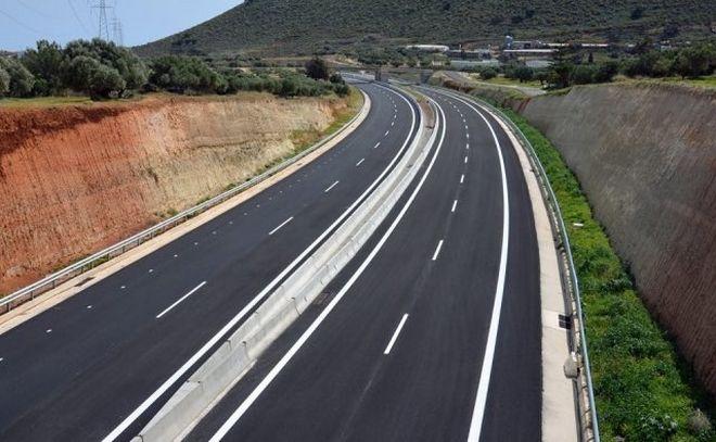 Κρήτη: Στην κυκλοφορία παραδίδεται τμήμα του Βόρειου Οδικού Άξονα