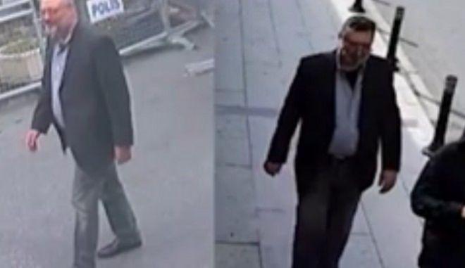 Πριν και μετά τη δολοφονία: Ο αληθινός Κασόγκι και ο σωσίας