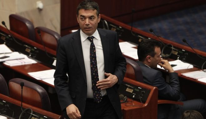 Ο υπουργός Εξωτερικών της πΓΔΜ, Νίκολα Ντιμιτρόφ