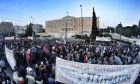 Απεργιακή συγκέντρωση  στο Σύνταγμα κατά του ασφαλιστικού από την Πρωτοβουλία Πρωτοβάθμιων Σωματείων το Σάββατο 7 Μαΐου 2016. (EUROKINISSI/ΓΙΩΡΓΟΣ ΚΟΝΤΑΡΙΝΗΣ)