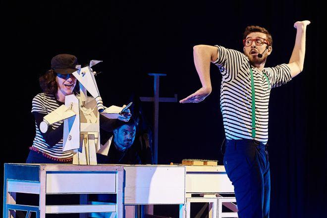 Μουσικό θέατρο για παιδιά από την ομάδα ΚΟΠΕΡΝΙΚΟΣ