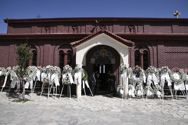 Η κηδεία του Σμηναγού Γιώργου Μπαλταδώρου στο Μορφοβούνι Καρδίτσας