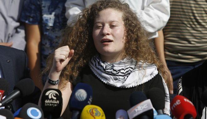 Το Ισραήλ απαγόρευσε στην Αχέντ Ταμίμι να ταξιδέψει στην Ελλάδα