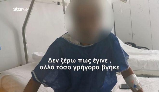 """Θύμα επίθεσης στον Διόνυσο: """"Με δάγκωναν δέκα σκυλιά σε όλο μου το σώμα"""""""